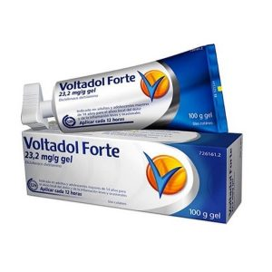 VOLTADOL FORTE 23.2 MG/G GEL TOPICO 100G